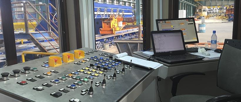 automazione acciaierie