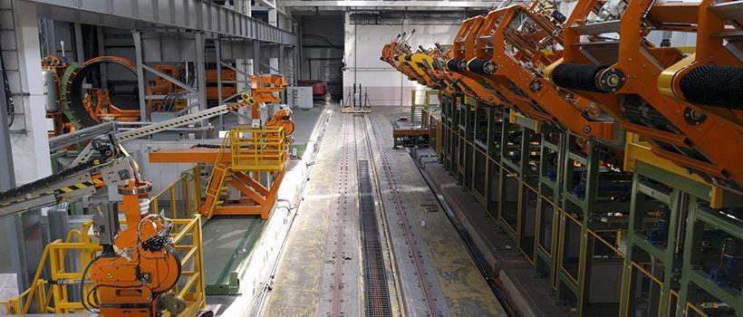 Automotive (produzione pneumatici) - Ferroviario