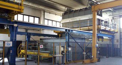 automazione settore vetrerie