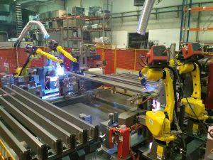 Robotica per la saldatura delle lamiere