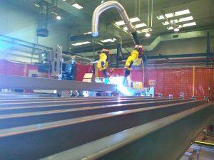Robotica ed automazione per la saldatura delle lamiere